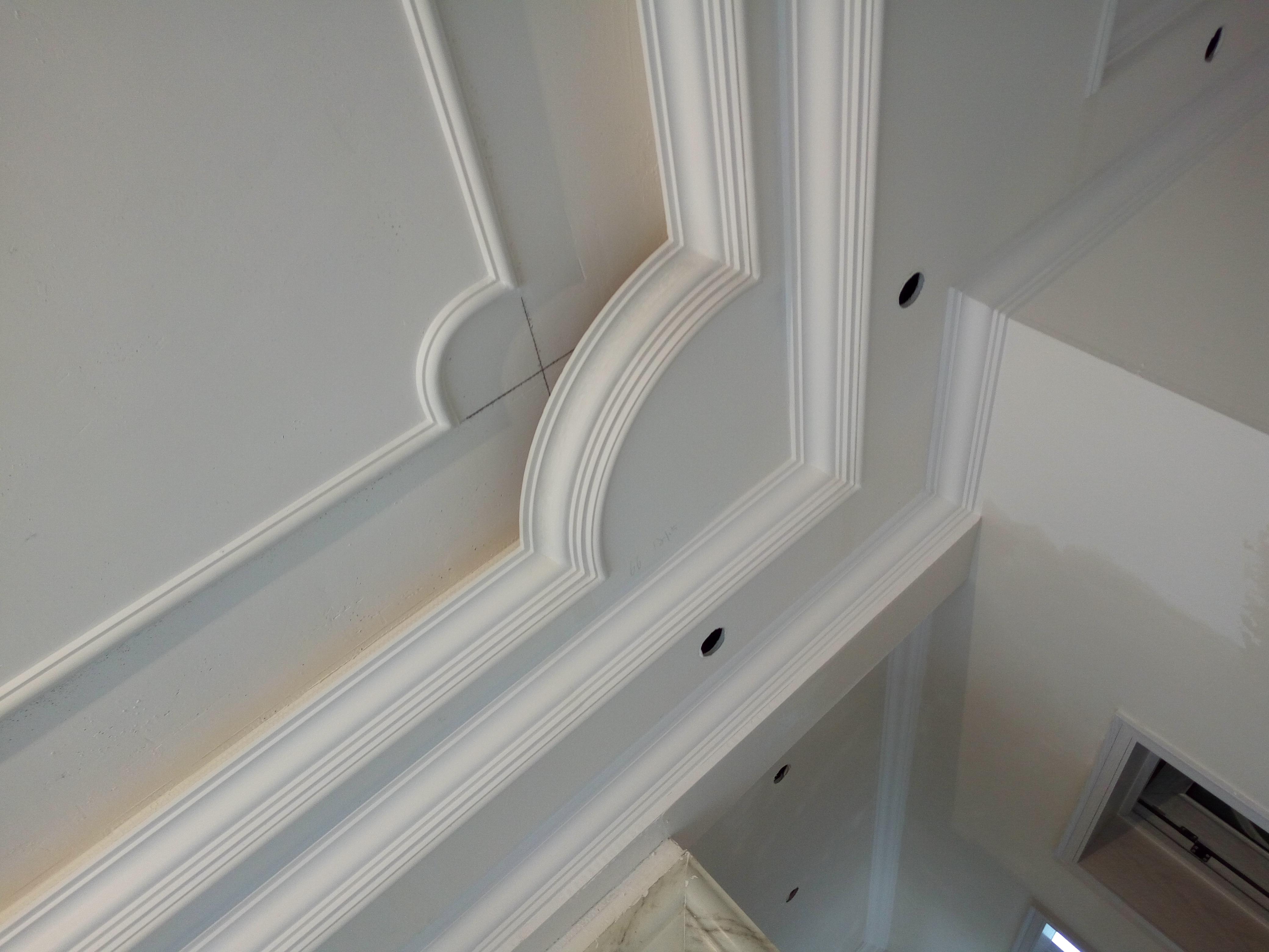 专业安装石膏线条